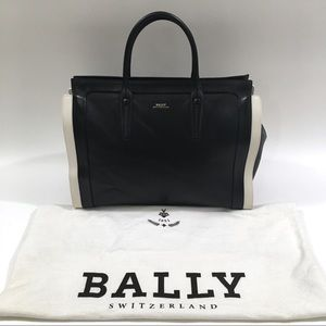 Bally Bags - Large Bally Bag Leather Tote